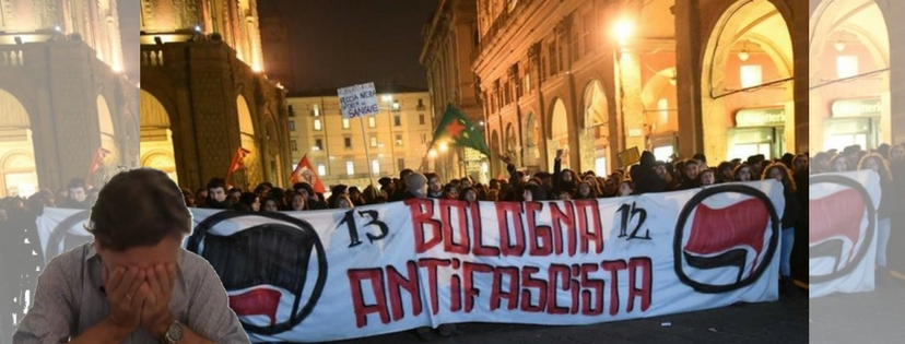 Scontri a Bologna, per Repubblica è colpa dei fascisti (!)