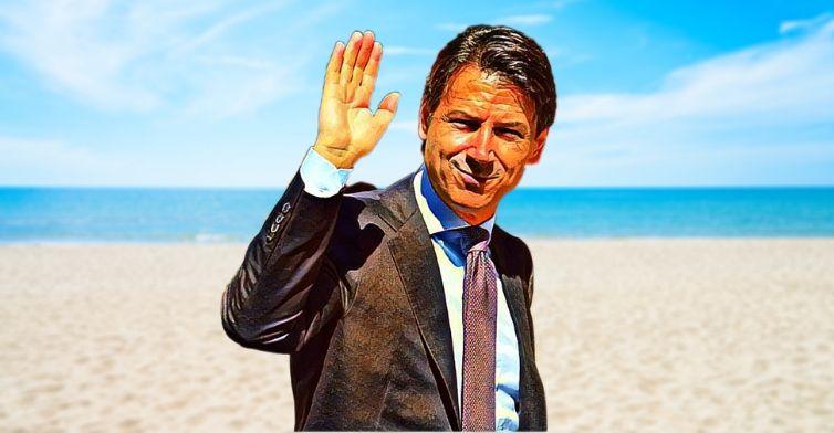 Potremo andare al mare. Ringraziamo il sovrano Sua Eccellentissima Eminenza Avvocato Conte