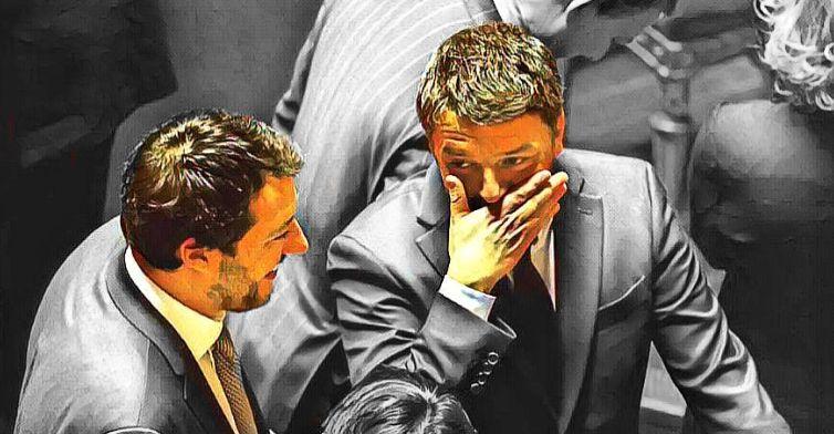 Salvini, vanno in scena i soliti giochini di Renzi