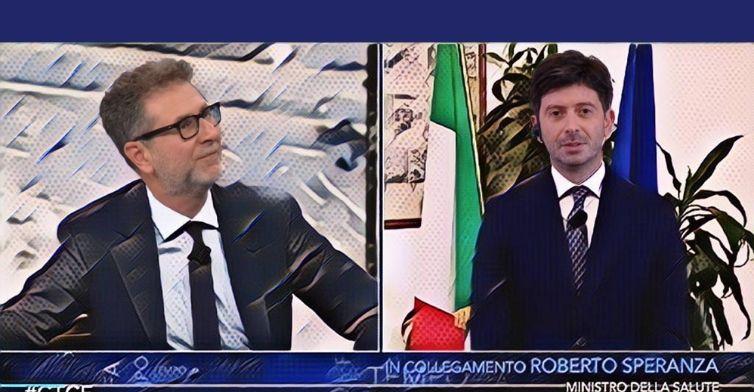 Speranza inaugura la Ddr d'Italia da Fazio