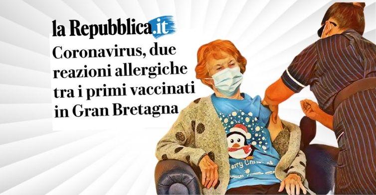 Le balle dei giornali sul vaccino inglese