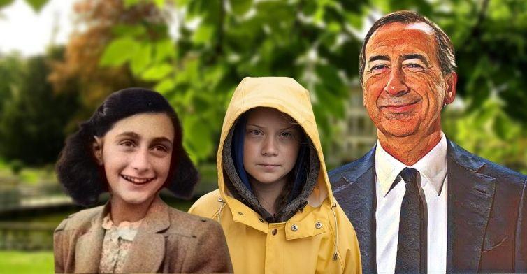 """Il delirio di Sala: """"Greta è la nuova Anna Frank"""" - Michael Sfaradi"""